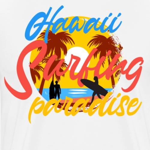 Surfing - Mannen Premium T-shirt