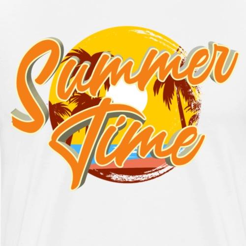 Summertime - Mannen Premium T-shirt
