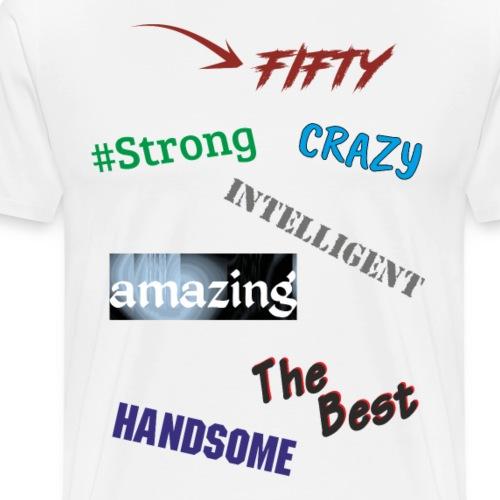 Tylko zalety - Koszulka męska Premium