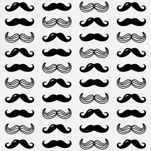 Moustaches rigolotes - T-shirt Premium Homme