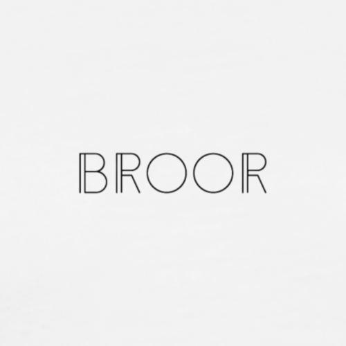 BROOR logo 1 - Mannen Premium T-shirt