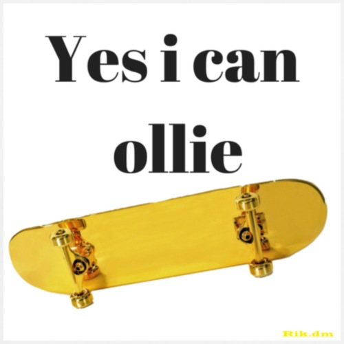 Yes i can ollie - Mannen Premium T-shirt