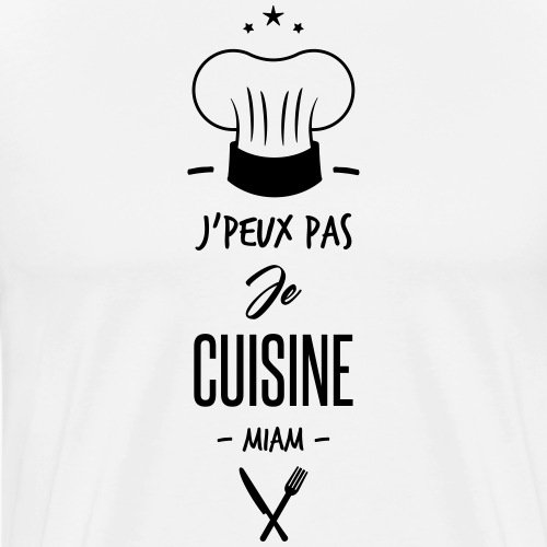 je cuisine - T-shirt Premium Homme