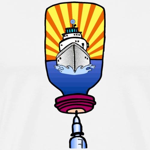 Insulin an Bord / Diabetes Pop Art Shirt - Männer Premium T-Shirt