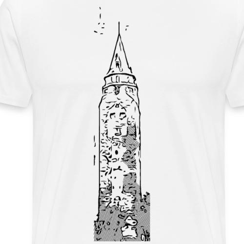 Hochturm Rottweil - Männer Premium T-Shirt