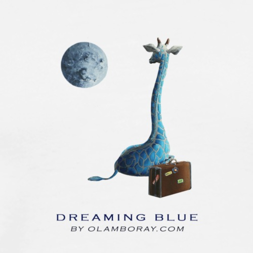 Dreaming Blue - Men's Premium T-Shirt
