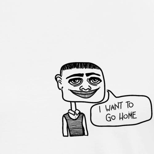iwanttogohome - Männer Premium T-Shirt