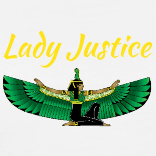 Lady Justice Maat design - Men's Premium T-Shirt