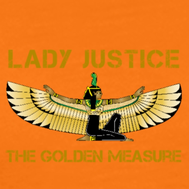 Lady Justice Golden Measure