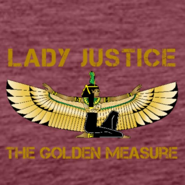 Lady Justice Golden Measure