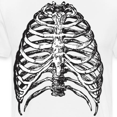 Scary Ribs - Männer Premium T-Shirt