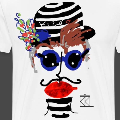 FACCE_DI_MòKIKA_KIRO - Maglietta Premium da uomo