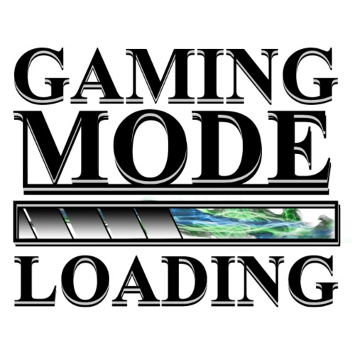 Gaming Mode Loading - Männer Premium T-Shirt
