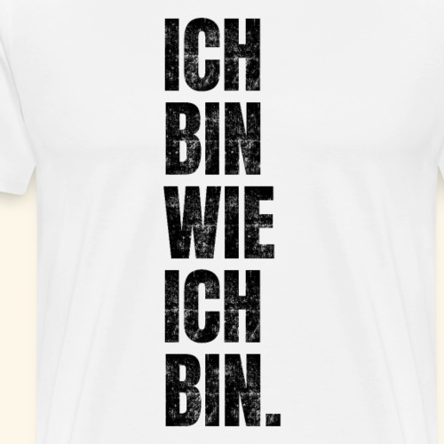 Lustiger Spruch Motivation Workout Fitness Gym - Männer Premium T-Shirt