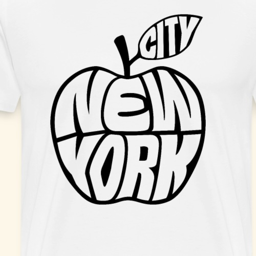 New York City Big Apple USA Souvenir - Männer Premium T-Shirt