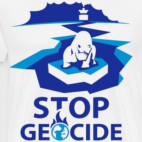 Ours polaire sur la banquise - T-shirt Premium Homme