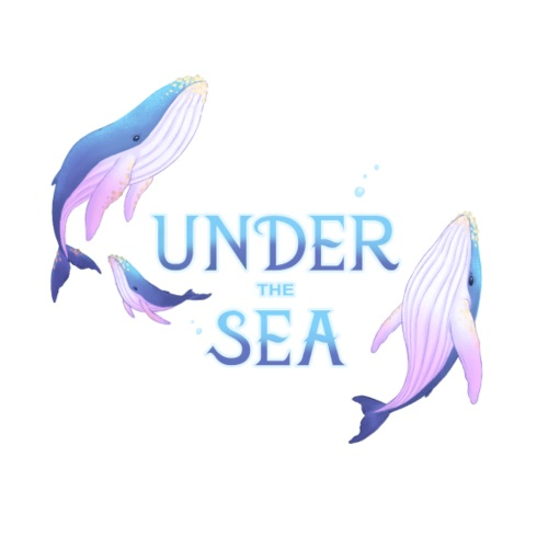 Under the Sea - Les Baleines - T-shirt Premium Homme
