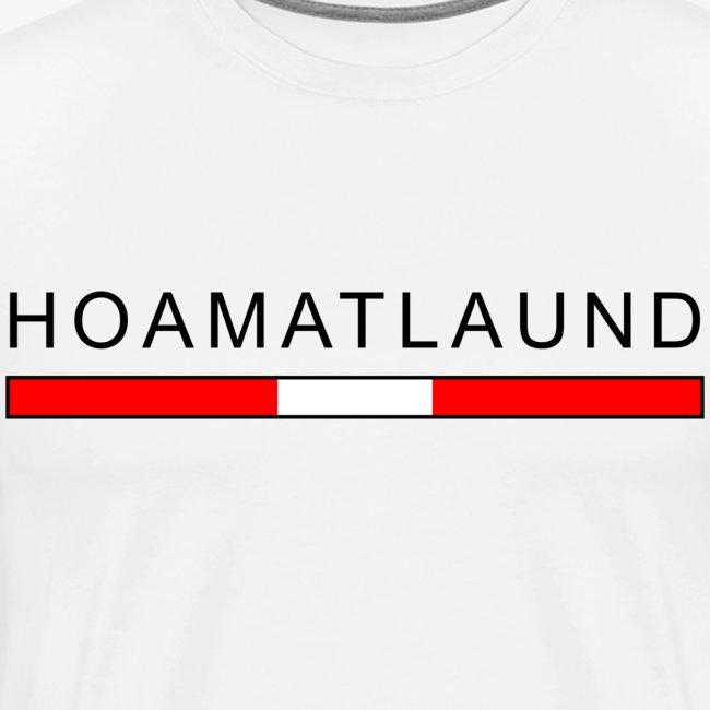 Hoamat mit österreich flagge