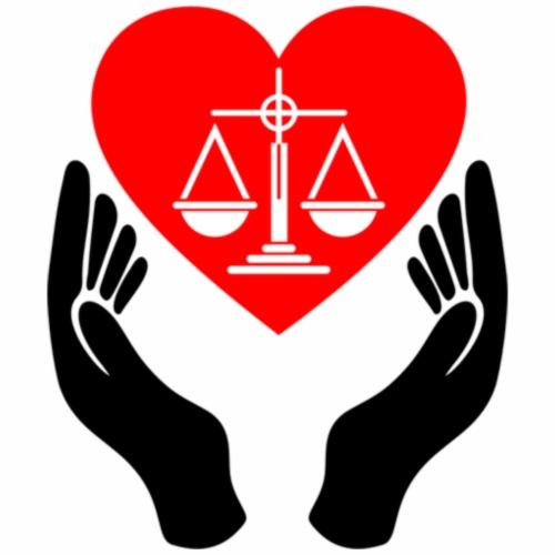 Embrace Justice and love - Men's Premium T-Shirt