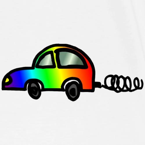 Car coloré: arc-en-Beetle - T-shirt Premium Homme