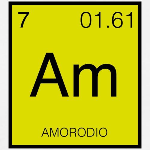 Amorodio - Camiseta premium hombre