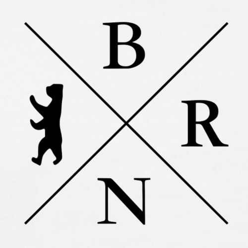 BRN LOGO+Ärmel - Männer Premium T-Shirt