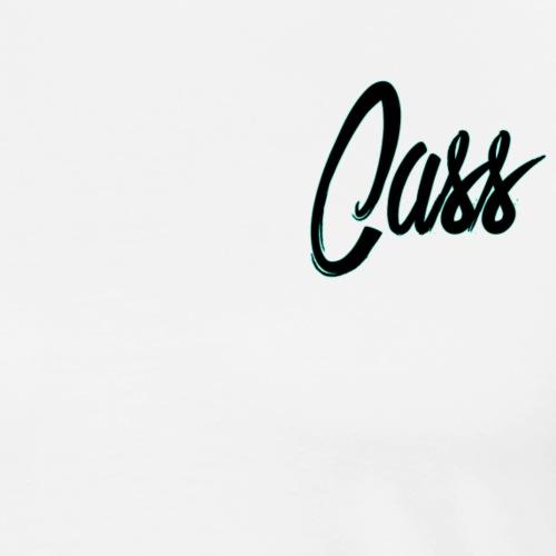 signature cass t-shirt - Men's Premium T-Shirt