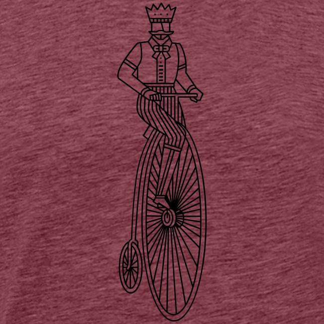 Old style bycicle