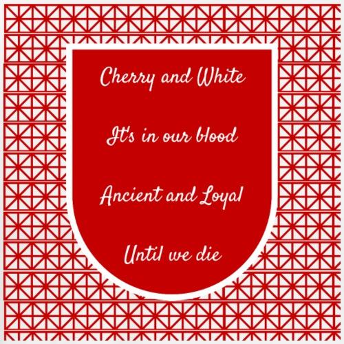 cherry and white - Men's Premium T-Shirt