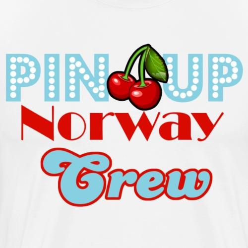 Crew Logo - Premium T-skjorte for menn