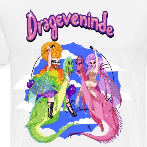 Drageveninde Promo Look - Herre premium T-shirt