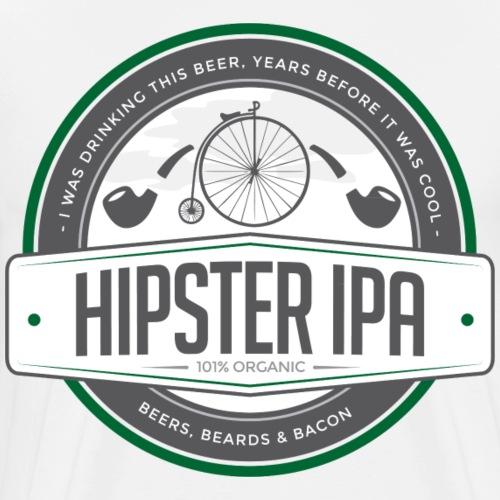 Hipster IPA - Men's Premium T-Shirt