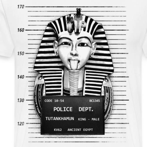Toutankhamon Mugshot - T-shirt Premium Homme