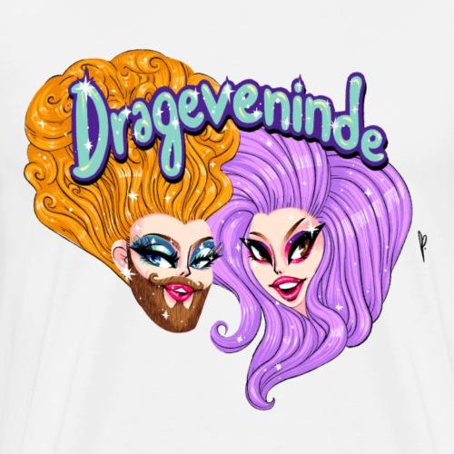 Drageveninde Closeup - Herre premium T-shirt