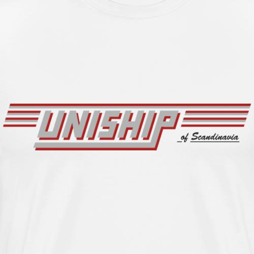 UNISHIP Göta Kanal - Premium-T-shirt herr