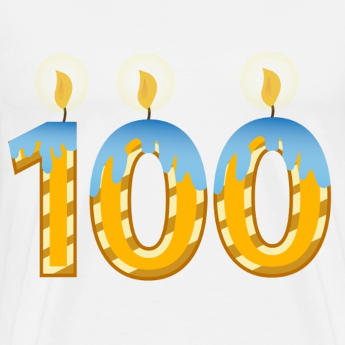 100th Birthday Celebration Party - Men's Premium T-Shirt