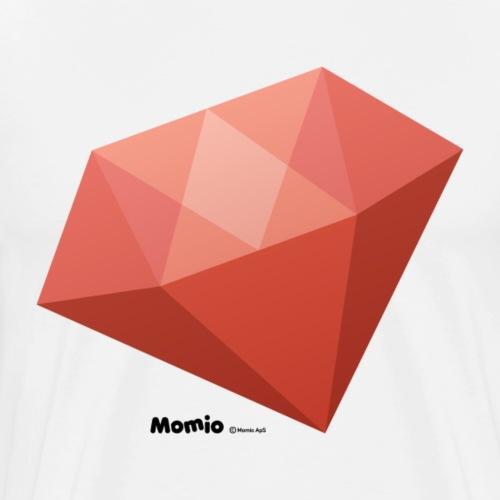 Diamant - Premium T-skjorte for menn