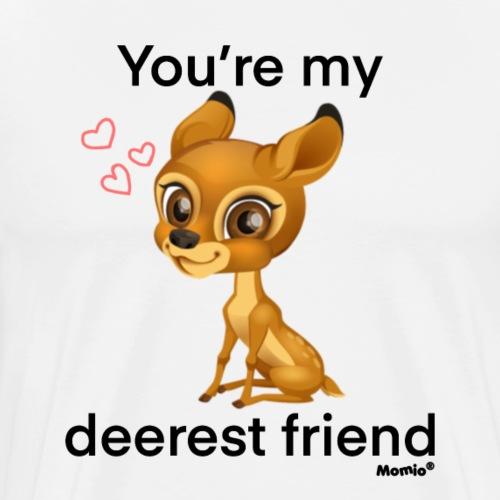 Deerest friend by Diamondlight - Premium T-skjorte for menn