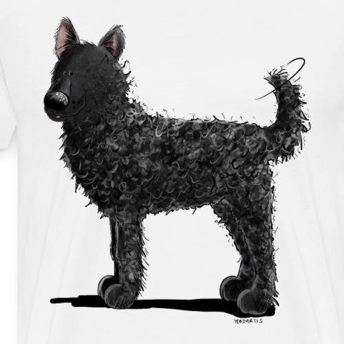 Lustiger Kroatischer Schäferhund I Comic Hund - Männer Premium T-Shirt