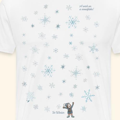 A wish on a snowflake - Winter - Hochformat