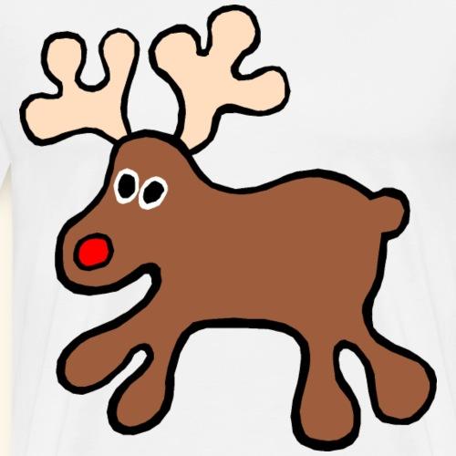 Reindeer Christmas - Men's Premium T-Shirt
