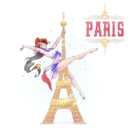 Pole Dance Paris Marianne - Men's Premium T-Shirt