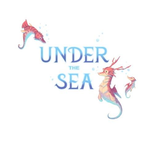 Under the Sea - Seahorses - Men's Premium T-Shirt