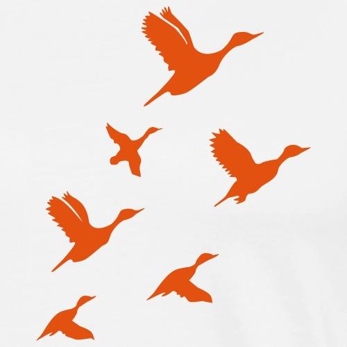 gaggle of geese - Männer Premium T-Shirt