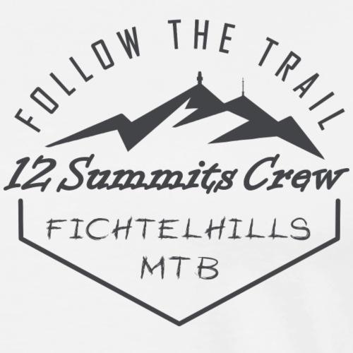 Fichtelhills Mountainbiking Schneeberg Ochsenkopf - Männer Premium T-Shirt