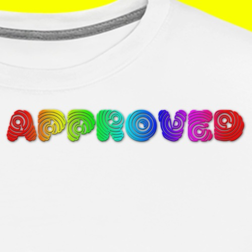 Rainbow Approved - Men's Premium T-Shirt