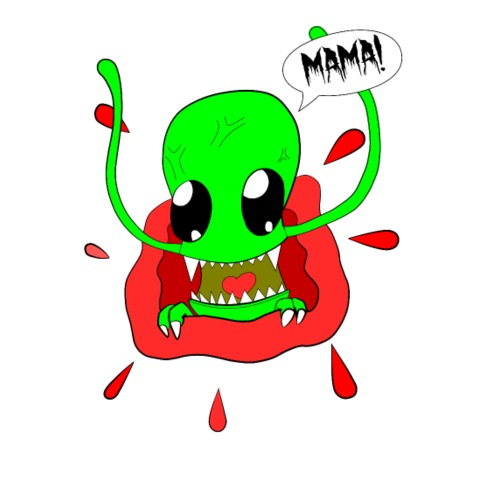 alien-mama! - Männer Premium T-Shirt