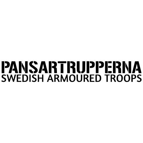 Pansartrupperna - Swedish Armoured Troops - Premium-T-shirt herr
