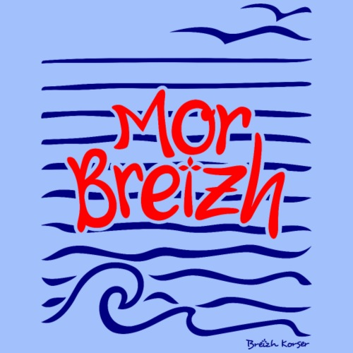 Mor Breizh (mer de Bretagne) - T-shirt Premium Homme