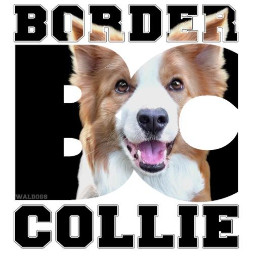 Border BC Collie IV - Miesten premium t-paita